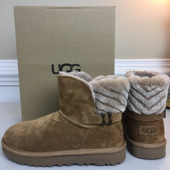 8900c621e88 UGG Adria ankle boots 6 chestnut NWT